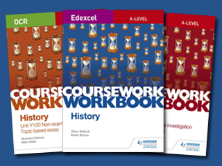 A-level History Coursework Workbooks