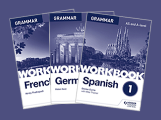 A-Level Languages Grammar Workbooks