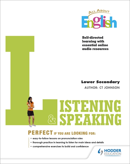 All About English: Listening & Speaking Lower Secondary W/Audio CD