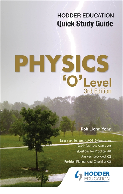 longman quick study guide physics o level 3rd edition galore park rh hoddereducation sg o level chemistry study guide o level maths study guide